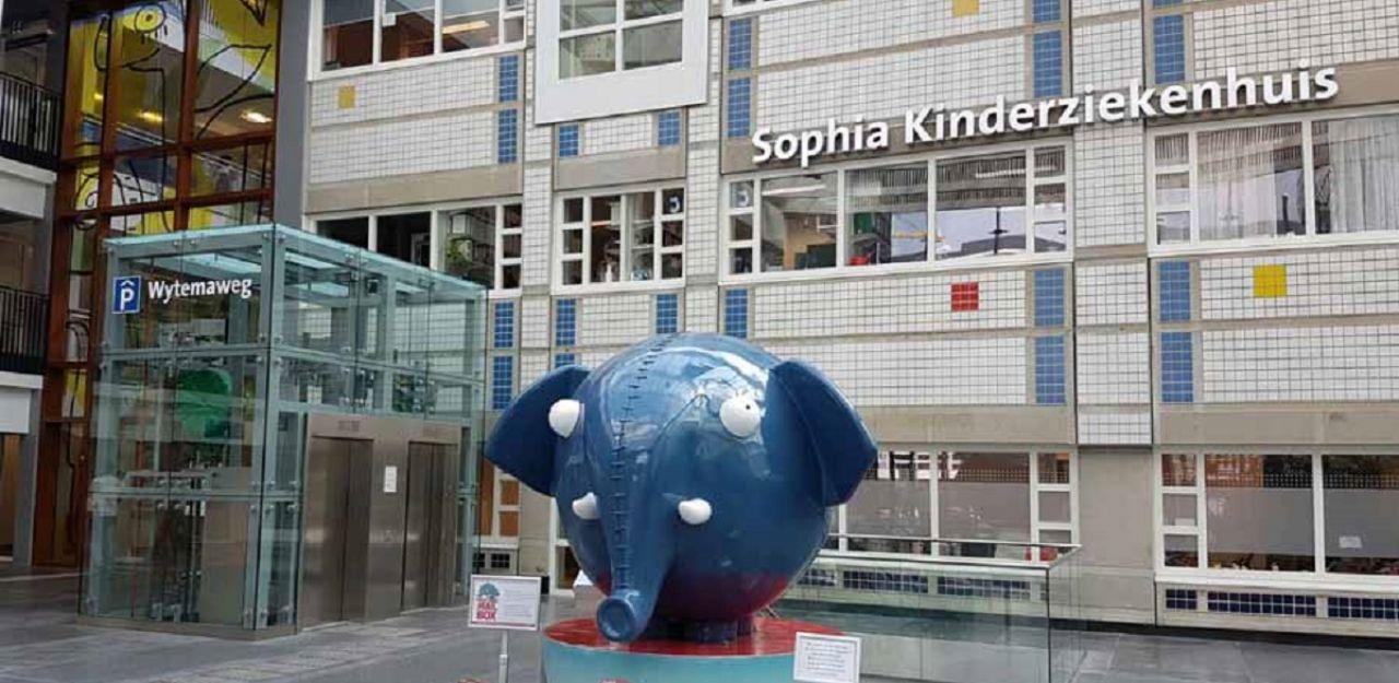 Knuffel voor het Sophia Kinderziekenhuis